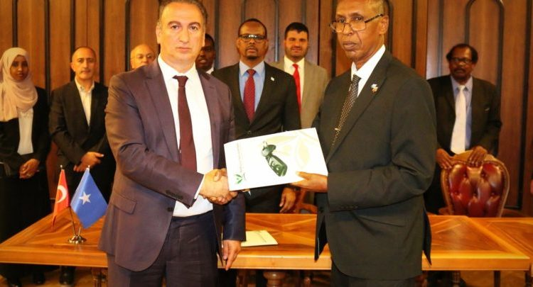 Insurance Agreement between Somalia and Turkey